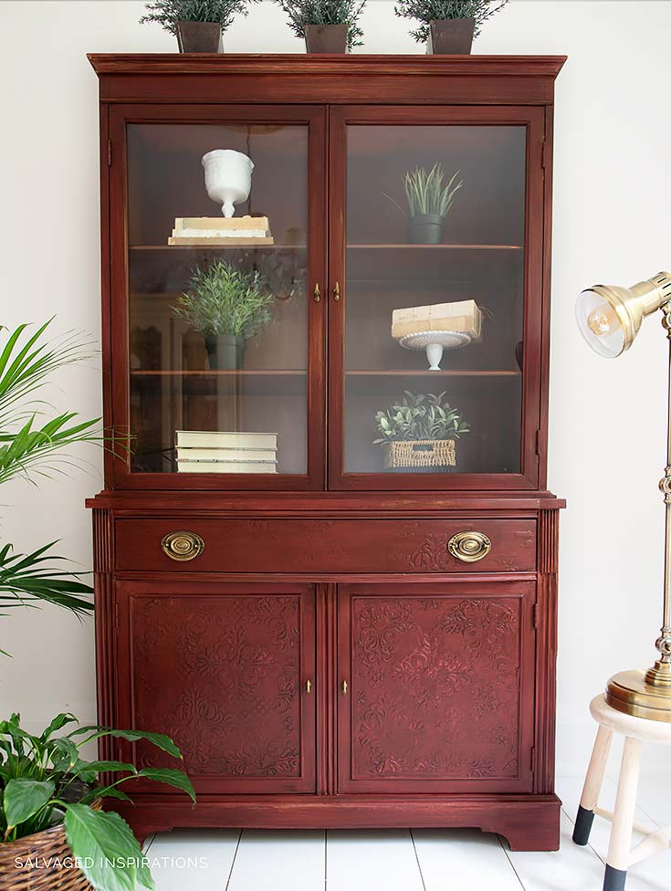 ReStore Cabinet Restyled w Embossed Stencil