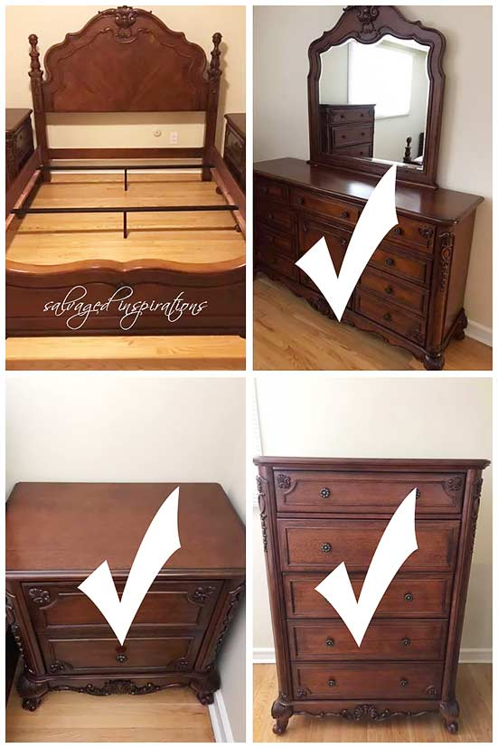 FB Marketplace Bedroom Set for SIBlog