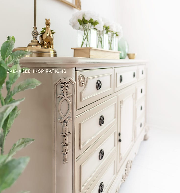 Painted Furniture Technique Blending