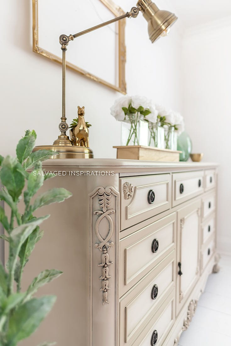 Painted Furniture with Blending Technique