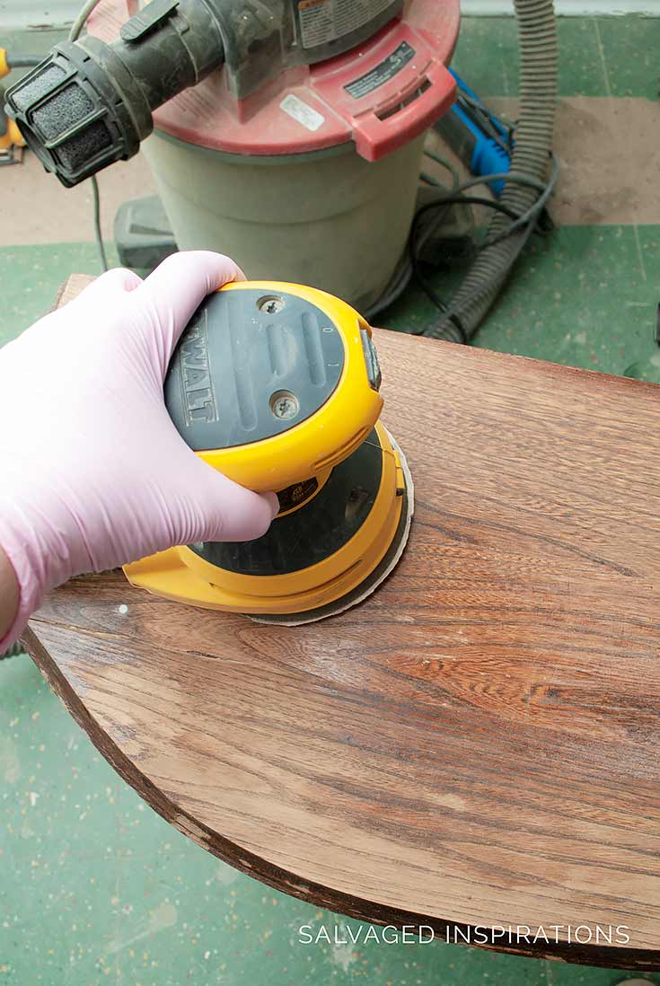 Sanding Furniture WITHOUT Dust