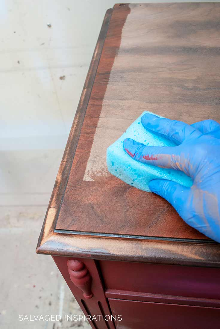 Dampening Wood Before Applying Water Based Stain