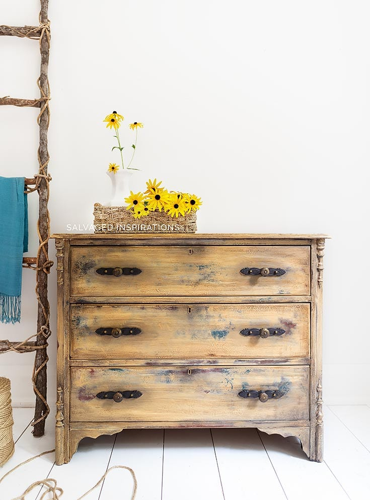Deodorize Wood - Antique Dresser Makeover