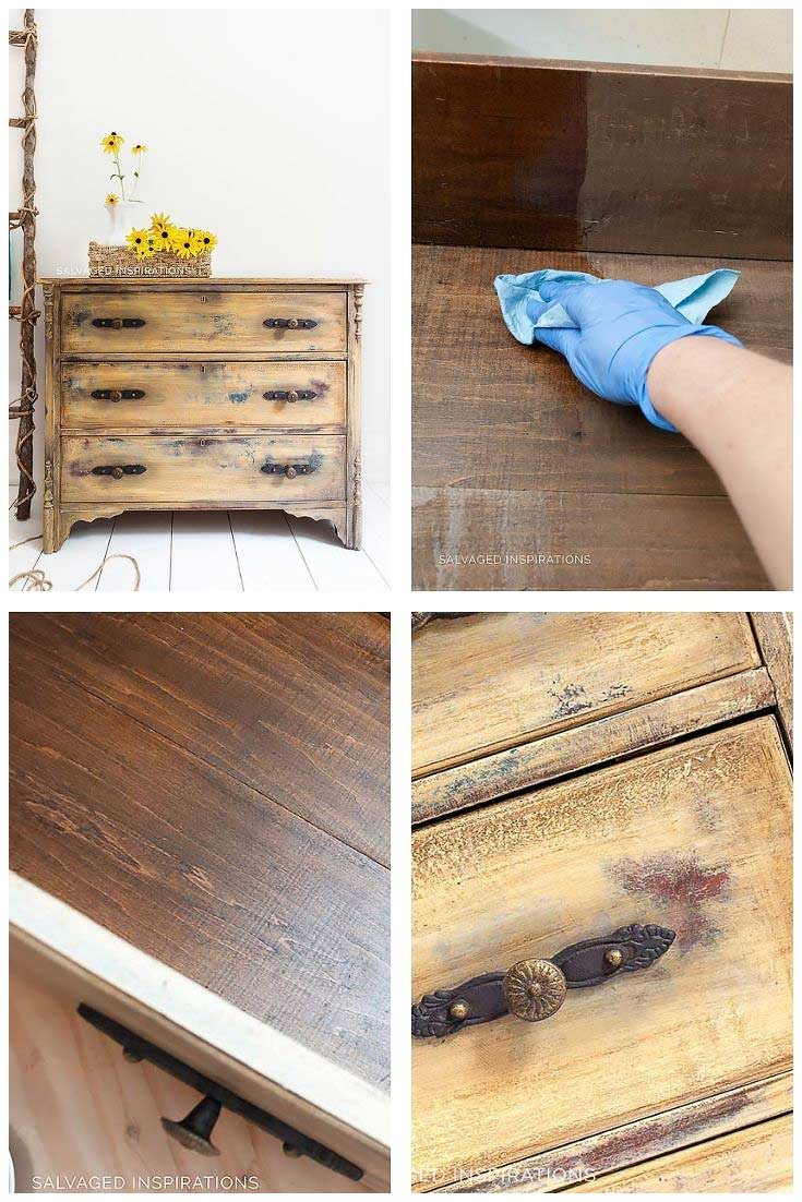 Deodorize and Condition Old Wood Drawers