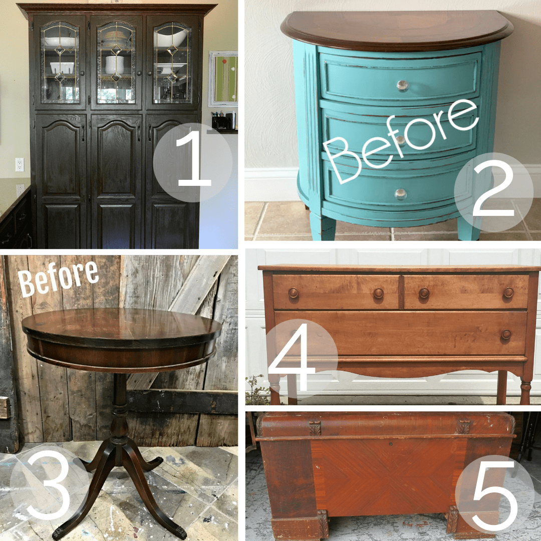Aug 2019 Furniture Fixer Upper - Salvaged Inspirations