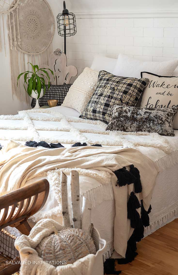 Fall Bedroom Makeover Salvaged Inspirations