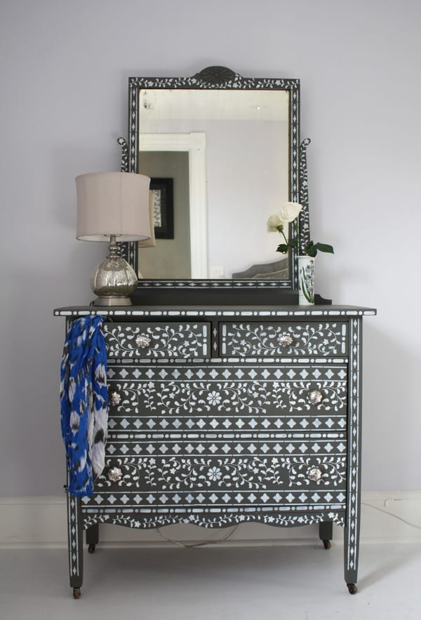 Wear Wag Repeat Bone Inlay Dresser