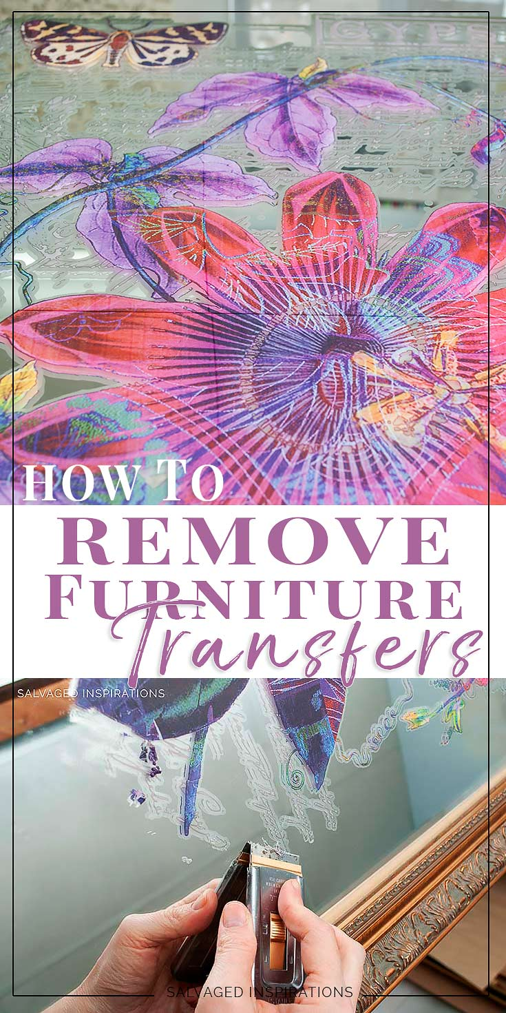How To Remove Furniture Transfers Salvaged Inspirations