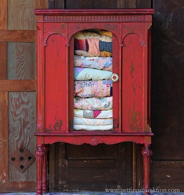 Tricycle-Red-Milk-Paint-Radio-Cabinet-Petticoat-Junktion_thumb