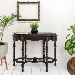 Vintage Hall Table Makeover IG