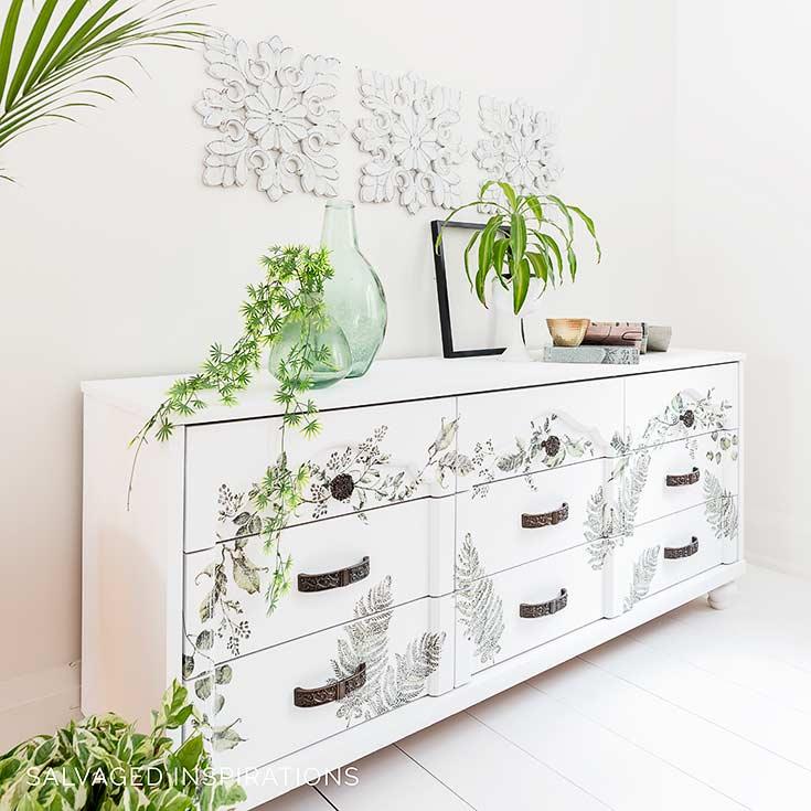 Dixie Belle Cotton Painted Dresser
