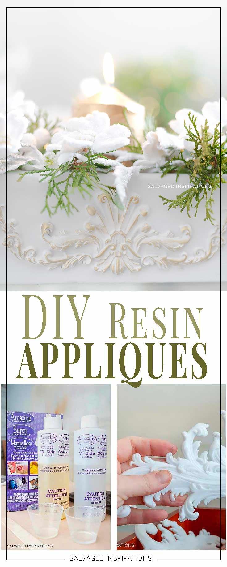 DIY Resin Appliques