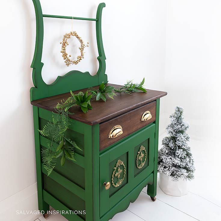 Painted Vintage Washstand IG