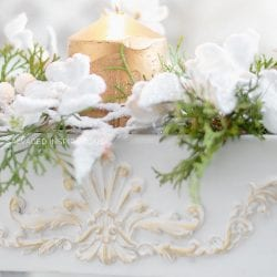 Resin Applique on Thrift Makeover SI