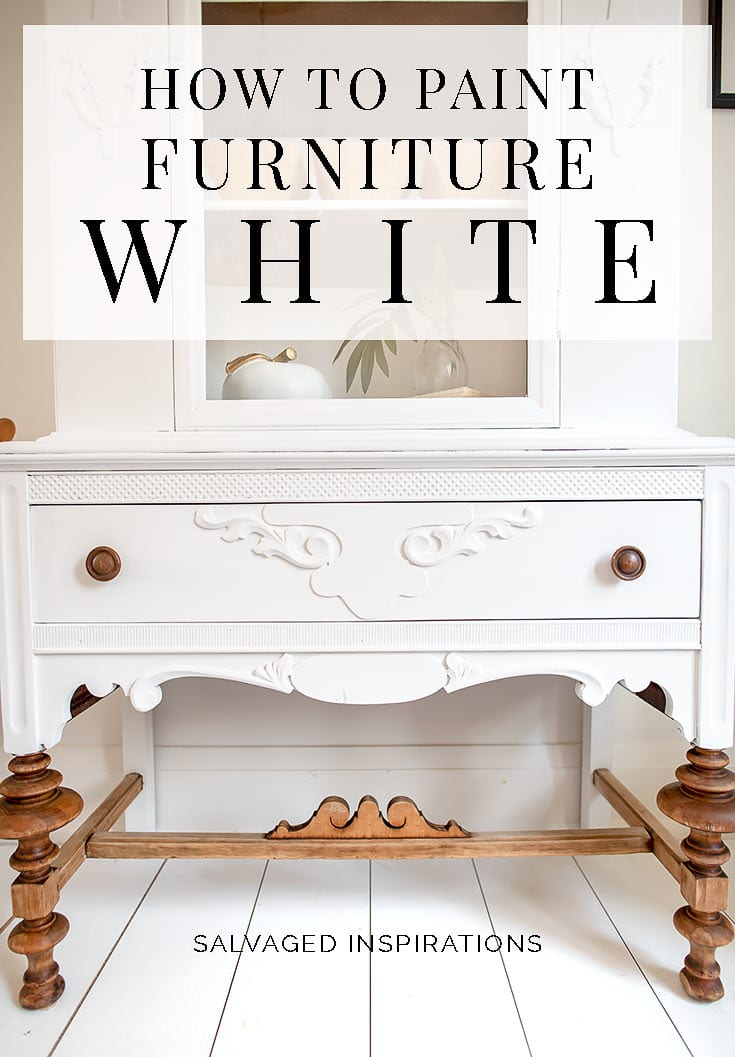 How To Paint Furniture White SIBlog