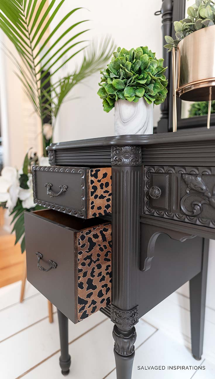 ReDesign With Prima Cheetah Drawers