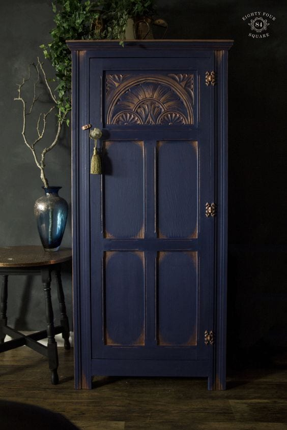 blue Armoire - Eight Four Square