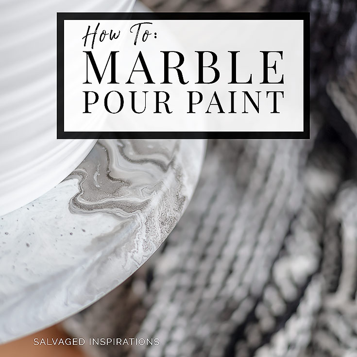 How To-Marble Pour Painting IG