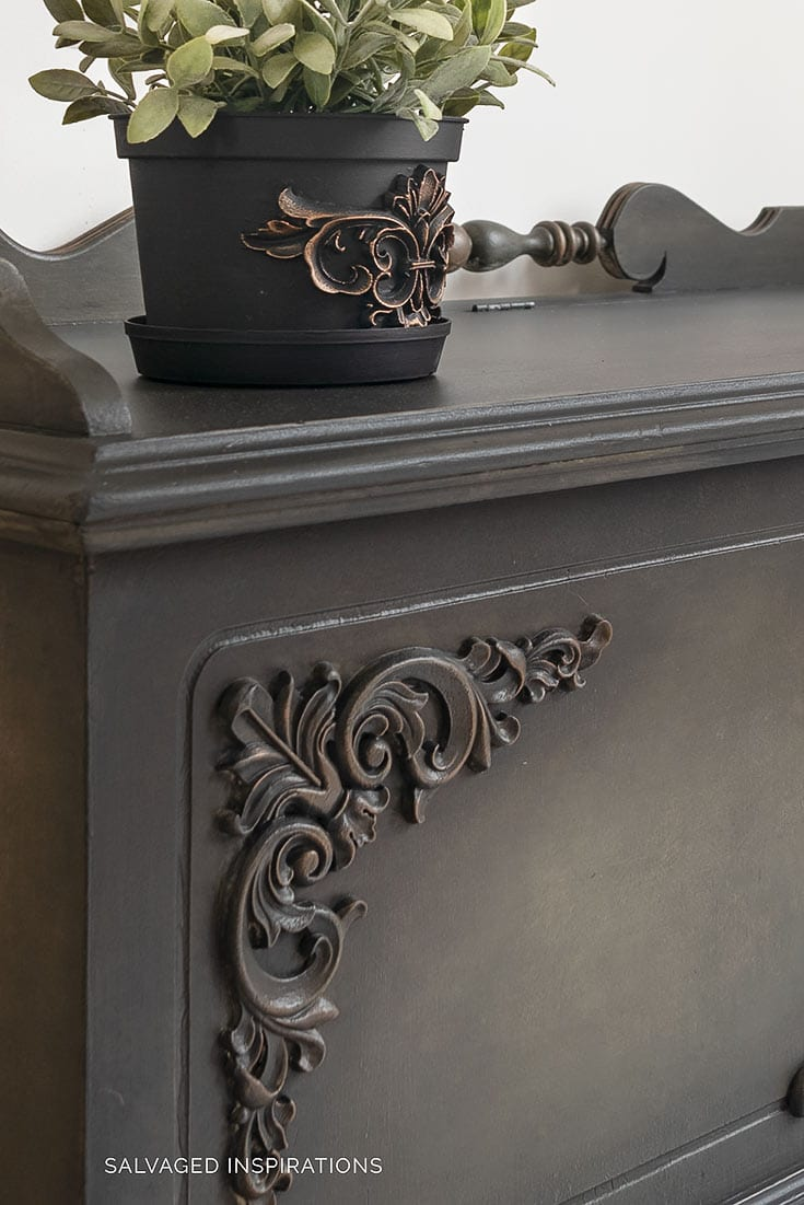 WoodUBend Appliques and Moldings on Furniture