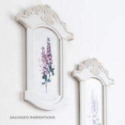 DIY Frames and Floral Prints