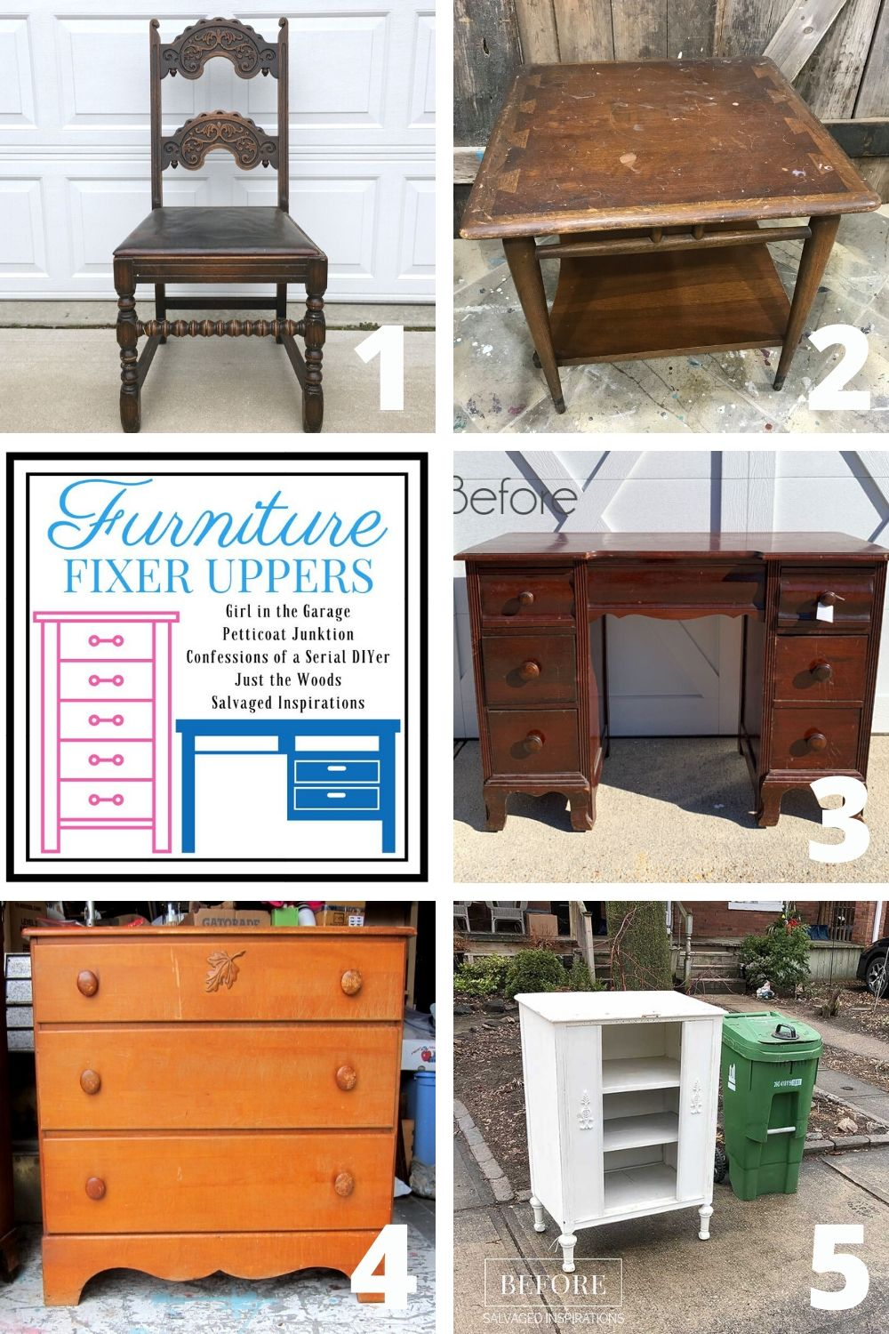 Furniture Fixer Upper - Befores 20200326
