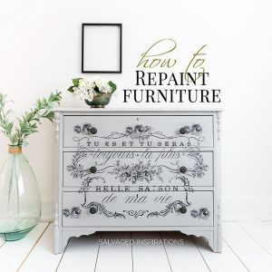 How To Repaint Furniture