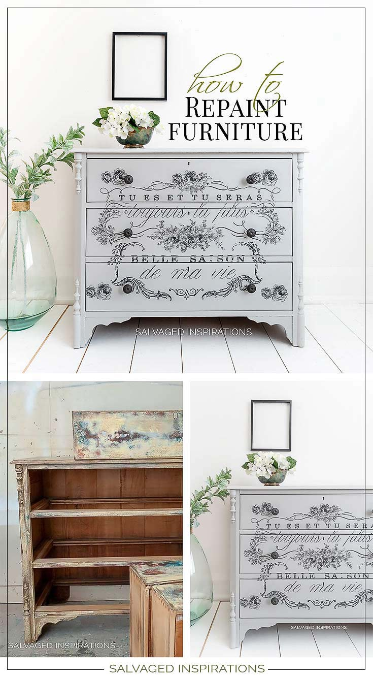 How To Repaint Furniture Collage