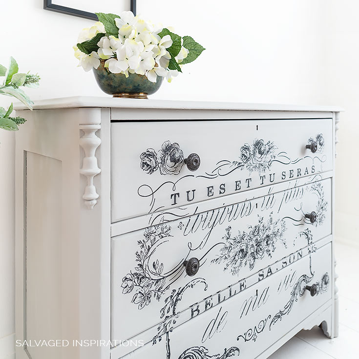 How To Repaint a Dresser IG