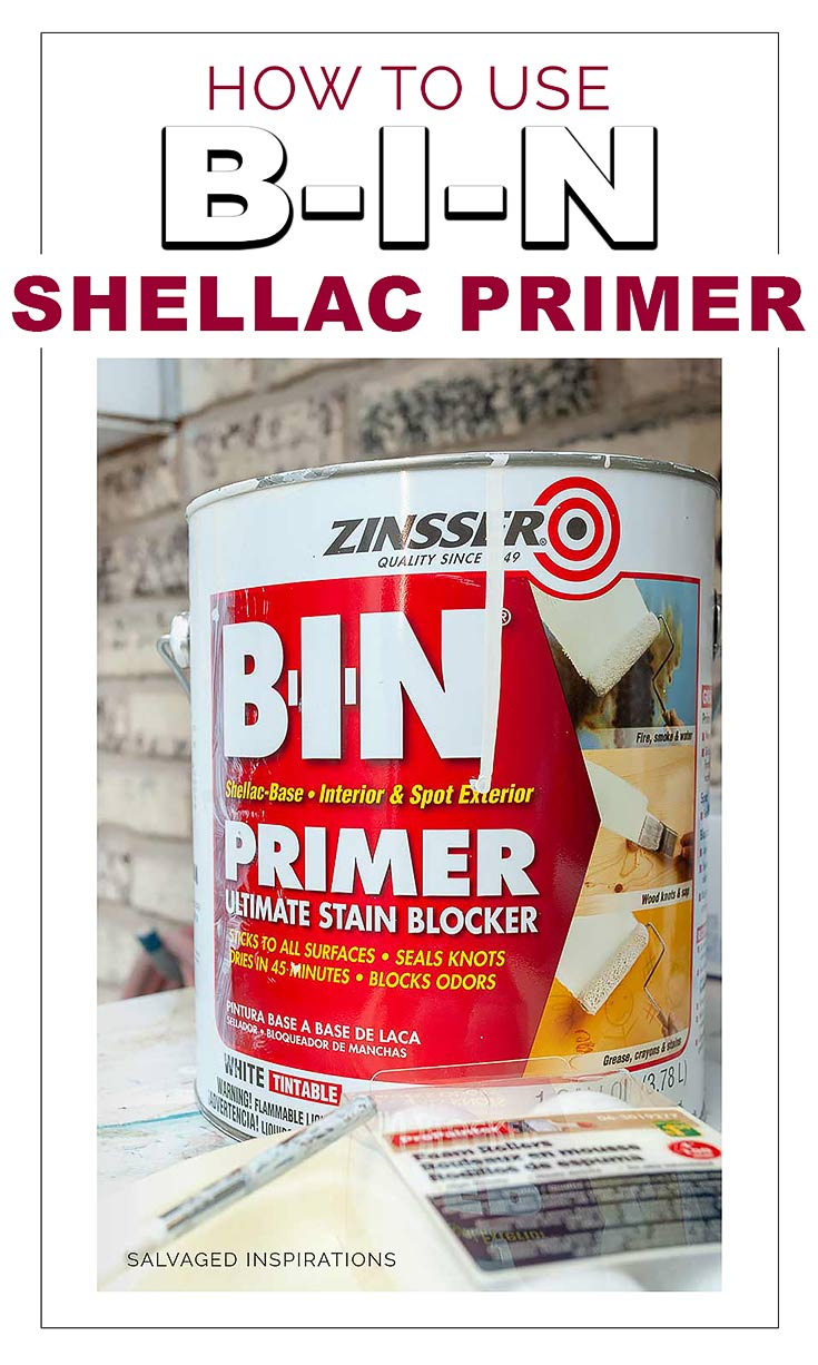 How To Use BIN Shellac Base Primer To Stop BleedThrough