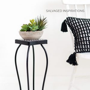 Salvaged Succulent Plant Stand IG