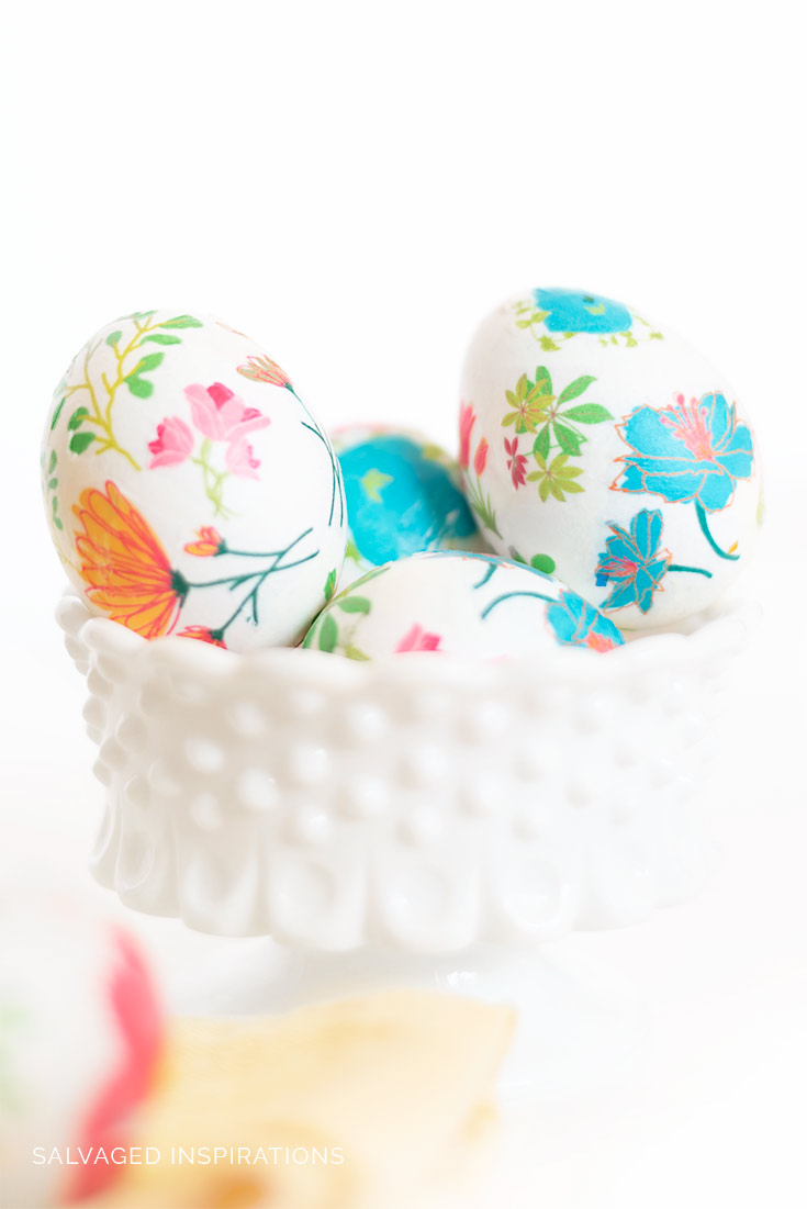 Floral Easter Eggs 2020
