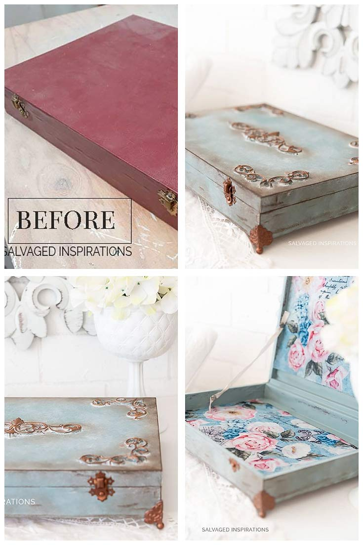 How To Create Vintage Blue Finish