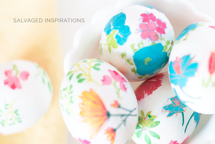 Top View of Floral Easter Eggs1