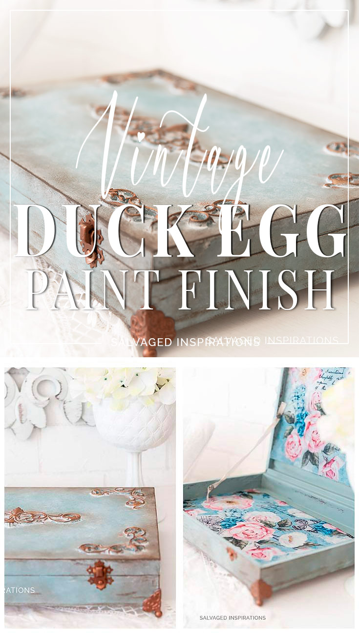 Vintage Duck Egg Paint Finish PIN
