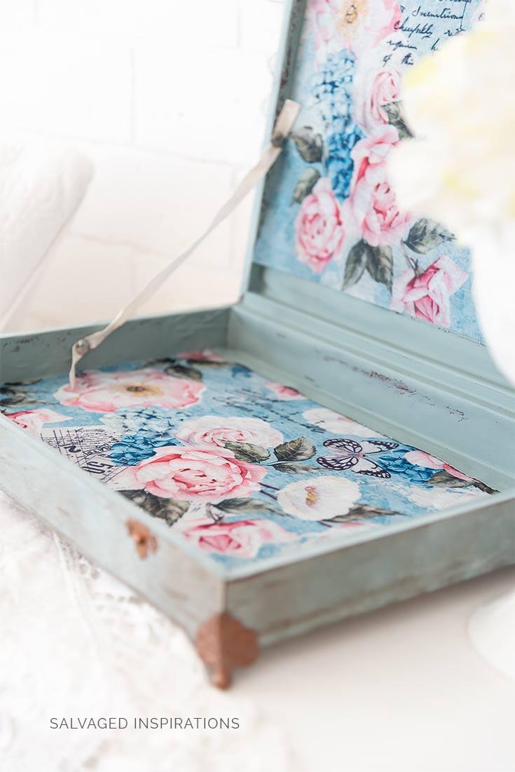 ReDesign Zoey Decoupage Paper in Flatware Box