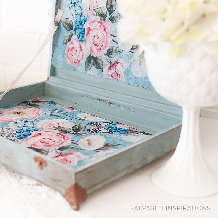 Zoey Decoupage Paper in Flatware Box