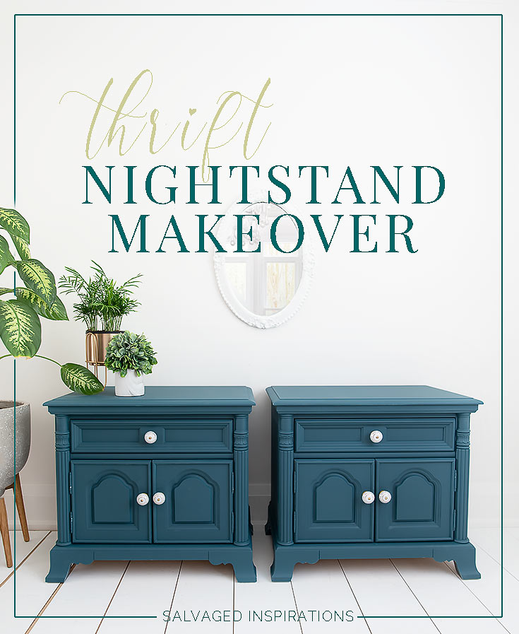 Twin Thrift Nightstand Makeover txt