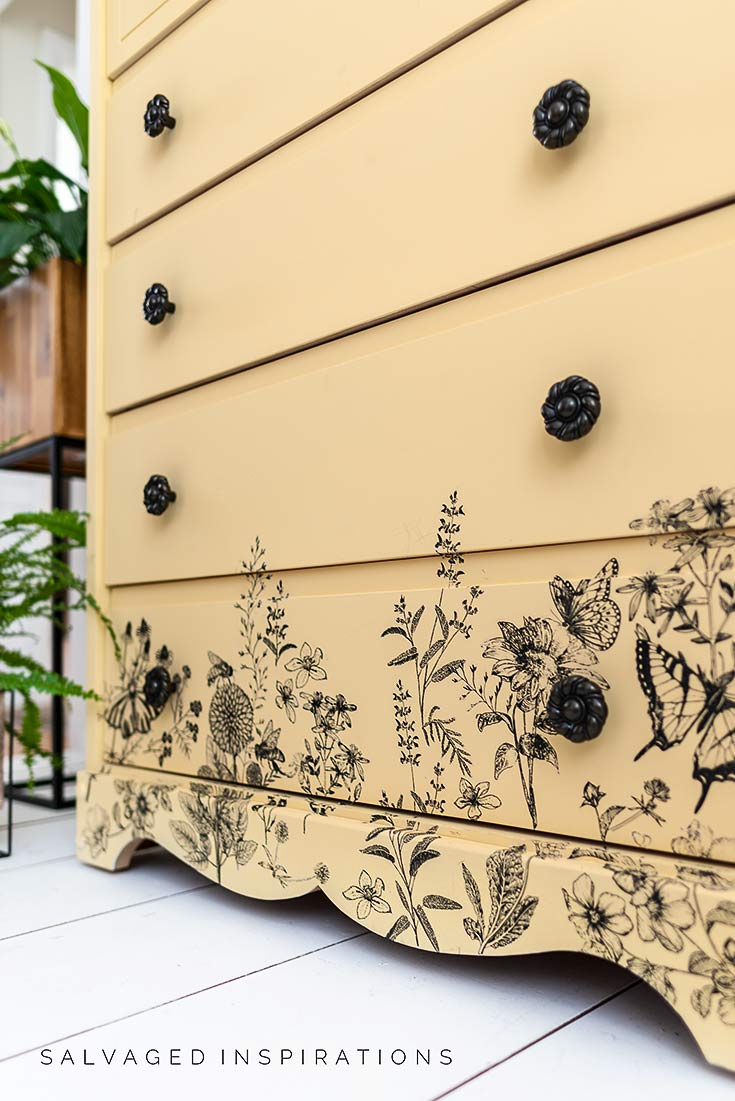 Close Up of Spring Meadow Life Furniture Transfer