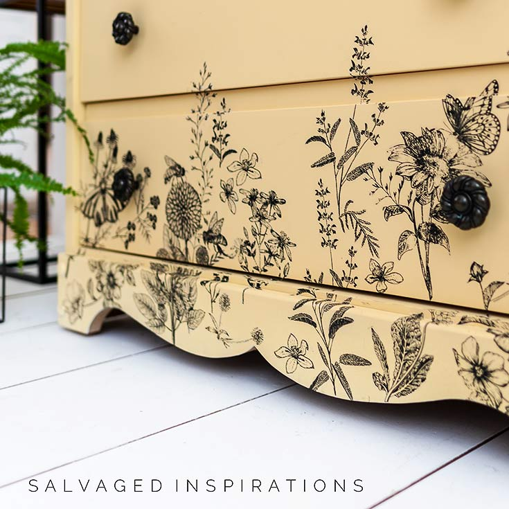 Close Up of Spring Meadow Life Furniture TransferIG