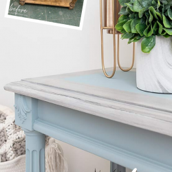 DIY painted hall table (2)
