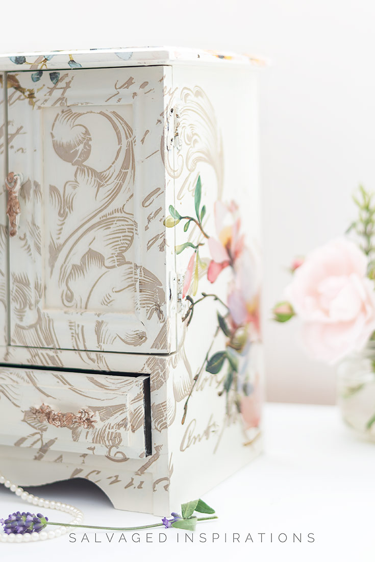 Layered Furniture Transfers on Box