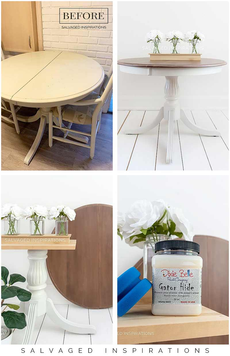 My Kitchen Table Makeover