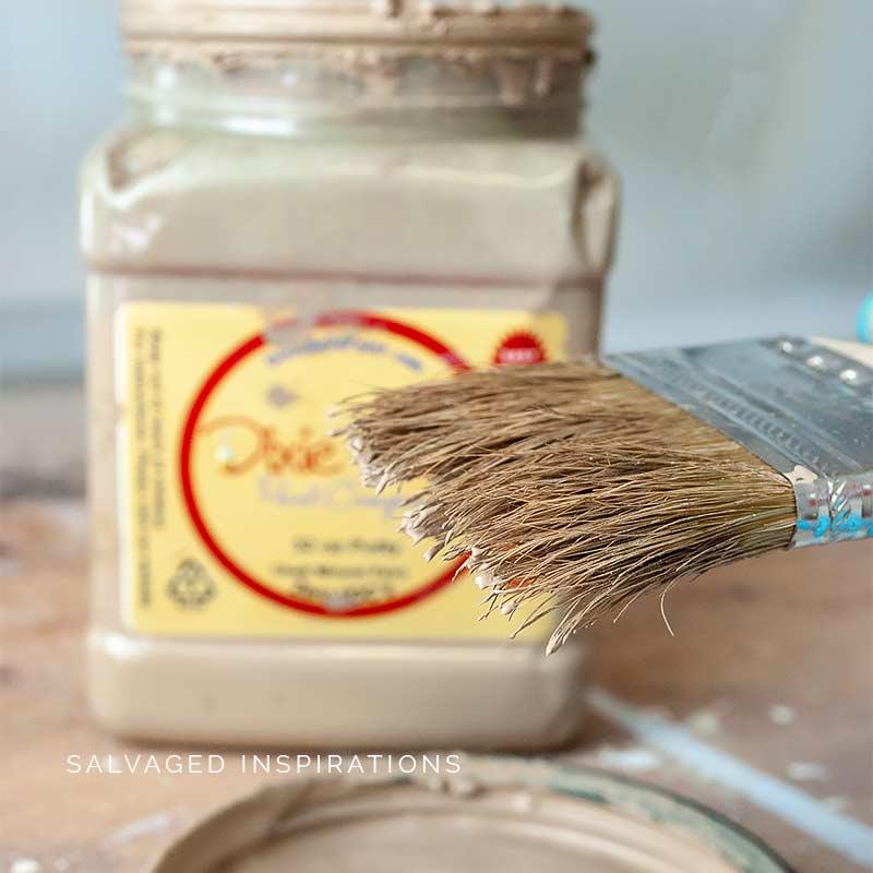 Painting Wicker w DB Putty