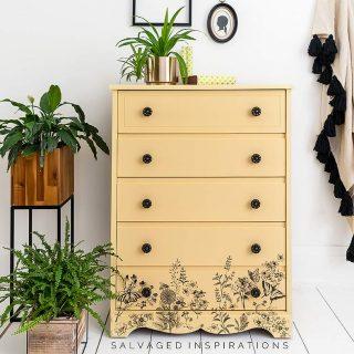 Spring Meadow Painted Dresser IG