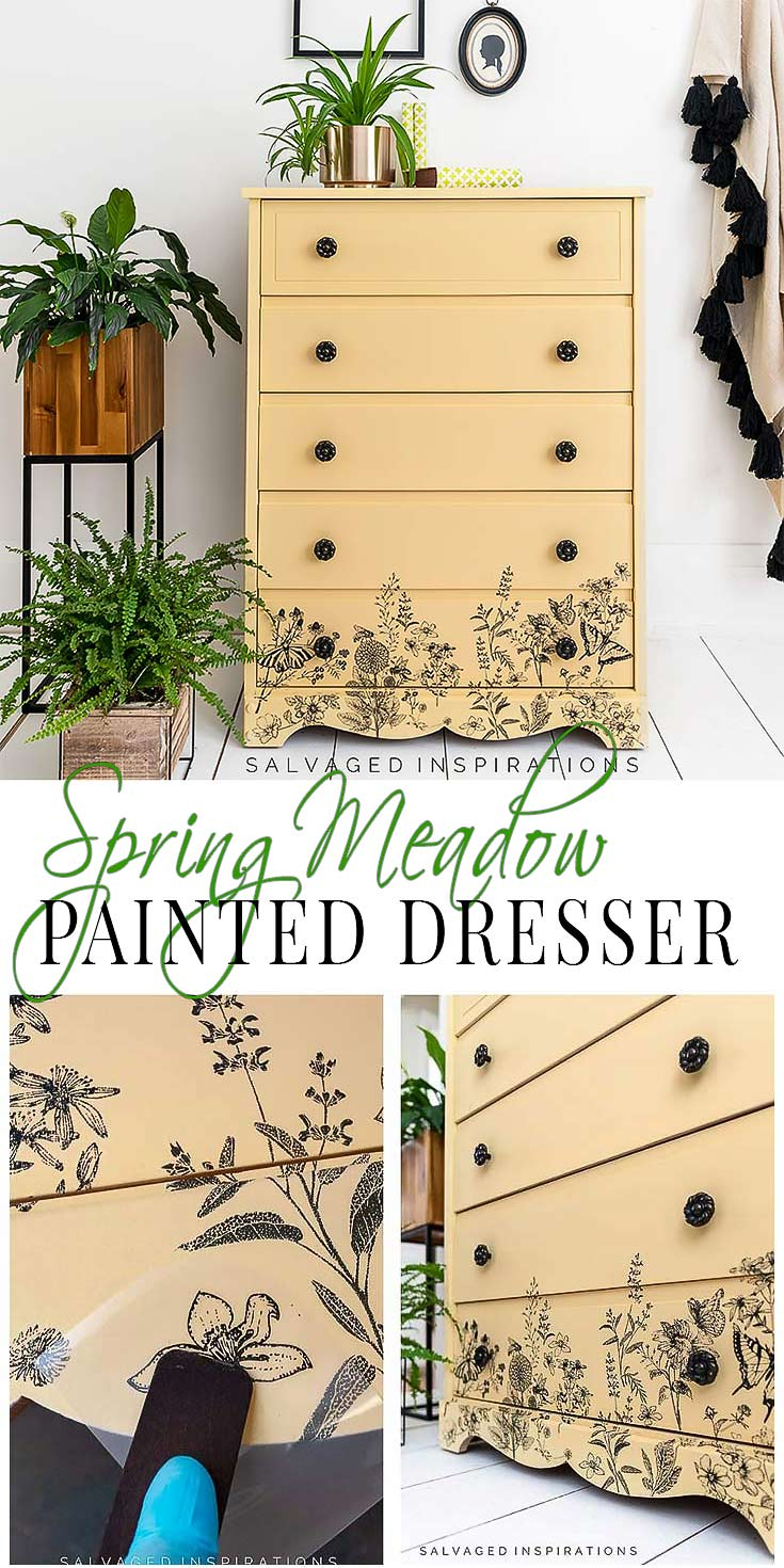 Spring Meadow Painted Dresser PIN