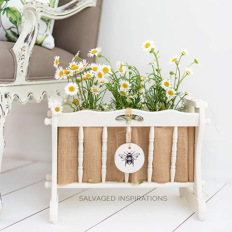 Wooden Magazine Rack turned PlanterIG