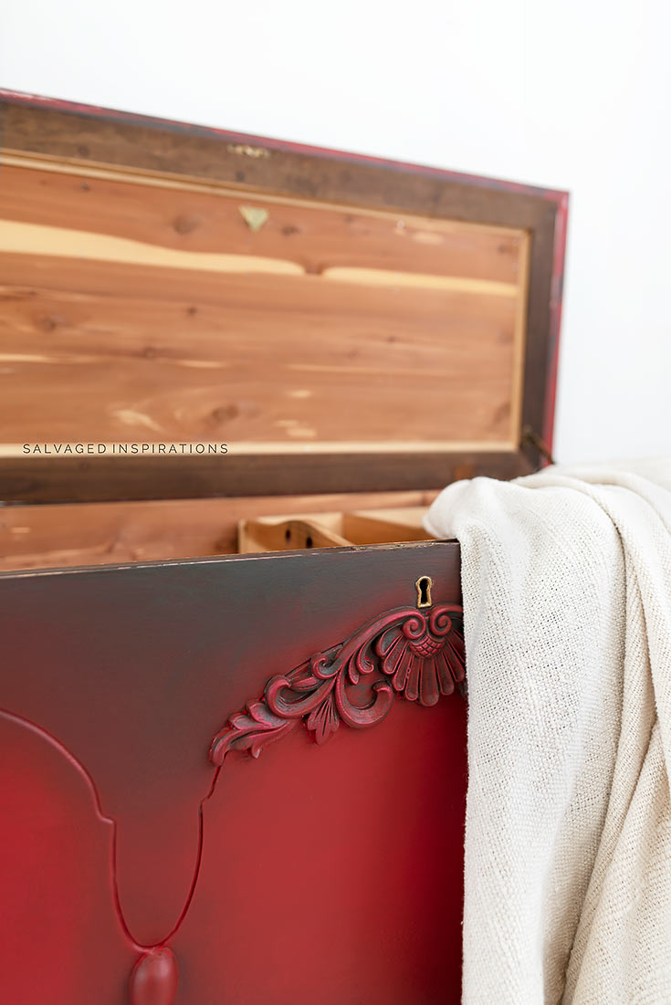Cedar Blanket Chest Makeover