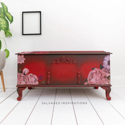 Painted Cedar Chest Makeover w Slick Stick Primer