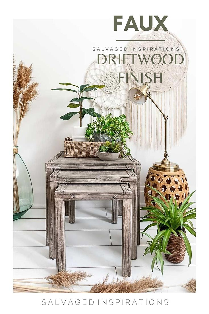 Faux Driftwood Finish Salvaged Inspirations