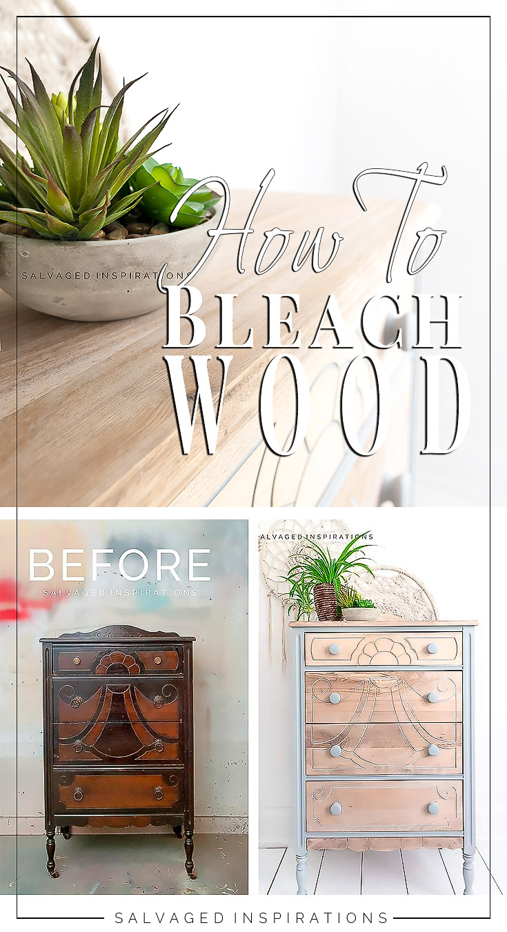How To Bleach Wood Furniture PIN